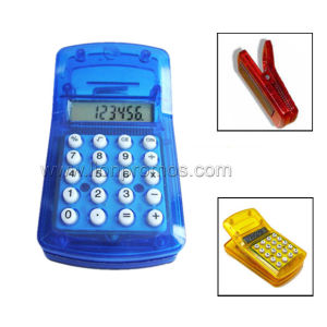 Clip Shape Mini Cheap Promotional Gift 8digits Calculator pictures & photos