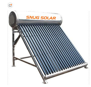 Stainless Steel Compact Non-Pressurized Solar Heating System pictures & photos