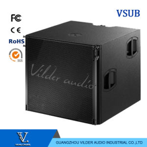 Vsub Single 18 Inch and Single 12 Inch High Performance Flyable Cardioid Subwoofer Speaker pictures & photos