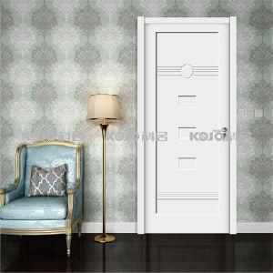 Eco-Friendly Waterproof WPC Interior Painting Door for Bedroom Bathroom (YM-064) pictures & photos