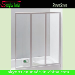 3 Panel Fiber Glass Sliding Shower Door (TL-425) pictures & photos