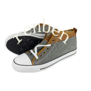 New Arriving Hot Design Men′s Canvas Shoes pictures & photos