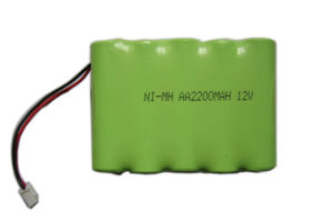 12V Ni-MH Battery Pack 2200mAh Recharge Battery Pack pictures & photos