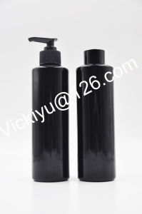 250ml High Quality Black Glass Lotion Bottles, Black Glass Serum Bottles,