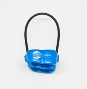 Safety Descender Rock Climbing Rappelling Belay Device Gear Sports Tool pictures & photos