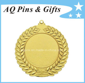 Custom 3D Medal with Gold Plating pictures & photos