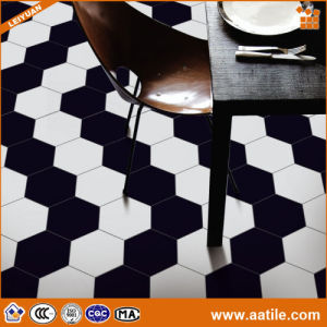 Simple Pattern Hexagonal Ceramic Tile for Floor and Wall