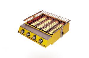 Four-Big-Burner Gas Environmental Roaster ET-K255 / ET-K255-B pictures & photos