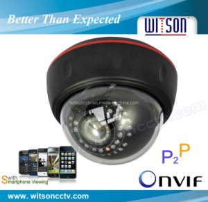 Max 960p HD Megapixel IR Dome IP Camera (W3-CND3512) pictures & photos