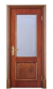 Simplified Fashion Wooden Door Milan Style Wooden Door Glass Door pictures & photos