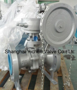 Chain Wheel Operated Floating Ball Valve pictures & photos