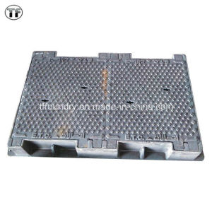 Watertight Vented Ductile Iron Manhole Cover, En124 D400, E600, F900, Applied to Sidewalks and Parks pictures & photos