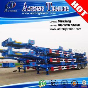 40FT Yard Chassis Container Trailer /Side Lifter Semi Trailer pictures & photos