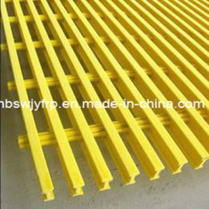 Fiberglass Pultrusion Grating for safety Rail pictures & photos
