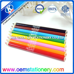 17.2*1cm Sikscreen Printing Logo Wooden Color Pencil in Bulk