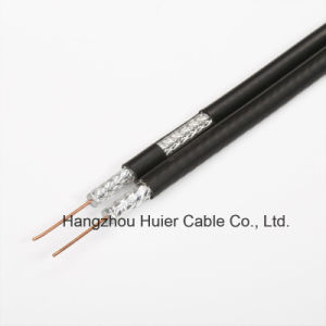 Low Db Loss Rg59 RG6 Rg11 with Messenger Coaxial Cable for CATV Satellite System pictures & photos