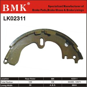 High Quality Brake Shoes (K2311) for Toyota pictures & photos