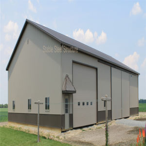 Steel Structure Prefab Metal Garage with Best Quality pictures & photos