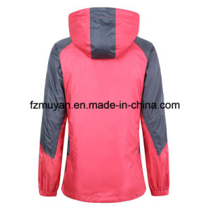 Soft Shell Hooded Waterproof Jacket pictures & photos