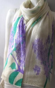 Cashmere Light Loose Knit Shawl Printed pictures & photos