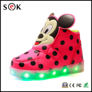2016 Wholesale Funny Luminous LED Shoes for Kids pictures & photos