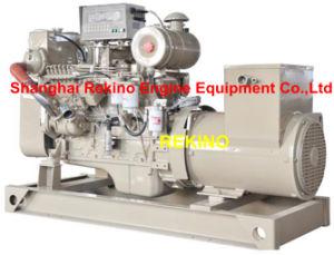 64kw 80kVA 50Hz Cummins Marine Diesel Genset Generator (6BT5.9-GM83/ MP-H-64-4)