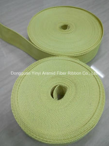 30mm Fire Retardant Aramid Fiber Plain Webbing pictures & photos