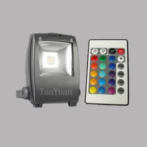 10W RGB LED flood light pictures & photos