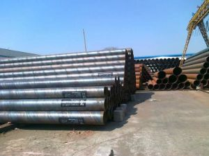 ASTM A106gr. a Spiral Steel Pipe pictures & photos