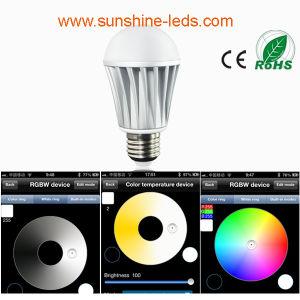 Bluetooth E27 7.5W AC100-265V RGBW LED Lamp pictures & photos