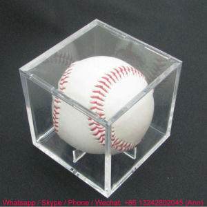Hot Sale Eco-Friendly Acrylic Tennis Display Boxes pictures & photos