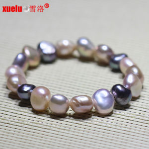 Natural Baroque Freshwater Pearl Bracelet Fashion Jewellery (E150048) pictures & photos