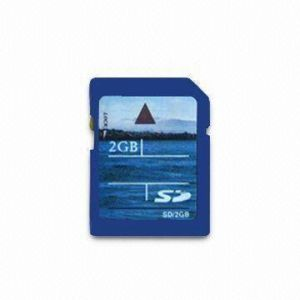 2GB High-Speed SD Memory Card With Full Capacity Feature pictures & photos