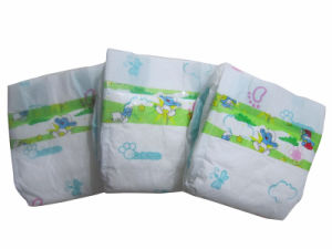 Super Soft Back Sheet Baby Diaper pictures & photos