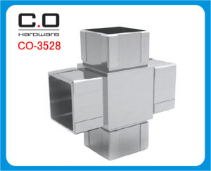 4 Way Square Tube Connector (CO-3528) pictures & photos