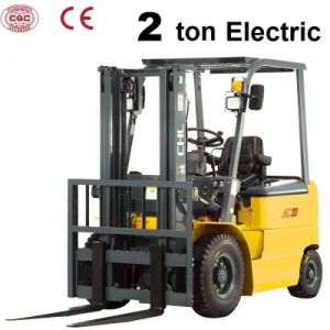 2 Ton Electric Forklift Truck with Curtis Controller (CPD20) pictures & photos