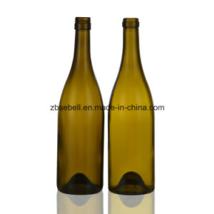 750ml Burgundy Wine Bottle with Screw Top with Height 297mm pictures & photos