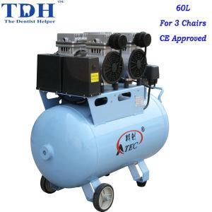 Quiet Clinic 60L Dental Air Compressor (TDH-120/60) pictures & photos