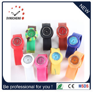 Silicone Fashion Ladies Branded Wristwatches (DC-100) pictures & photos