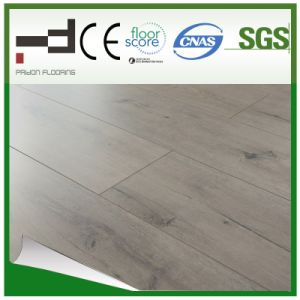 12mm Oak Ashy 1-Stripe Eir V-Bevelled European Style Water Proof Laminate Flooring pictures & photos