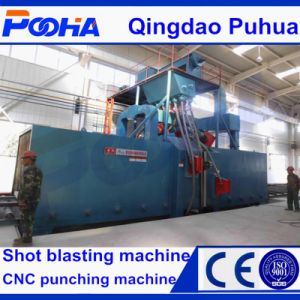 CE Roller Type Steel Structure Shot Blasting Cleaning Equipment pictures & photos