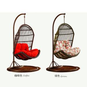 Outdoor Furniture Patio Swing Wicker / Rattan Swing /Outdoor Rattan Adult Hanging Egg Swing Chair D013 pictures & photos