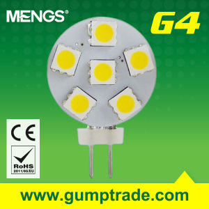 Mengs® G4 1W LED Bulb with CE RoHS SMD, 2 Years′ Warranty (110130043)