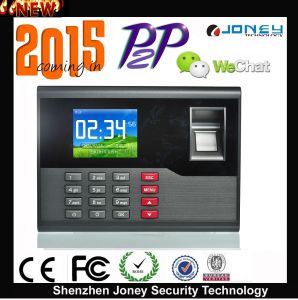 Economical Employee Time Attendance Machine Punch Card/Pin/Fingerprint Time Attendance pictures & photos