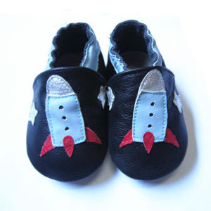 Baby leather Shoes with Animal pictures & photos