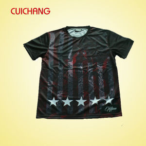 Hot Selling Cheap Custom Polyester Sublimation T-Shirt Item pictures & photos