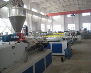 Rigid PVC/WPC Celuka Foam Board Extrusion Production Line pictures & photos