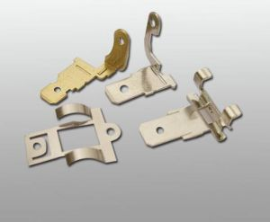 Precision Stamping Parts for Electric Relays pictures & photos