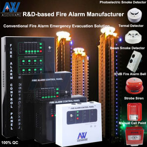 4 Zones Conventional Fire Alarm pictures & photos