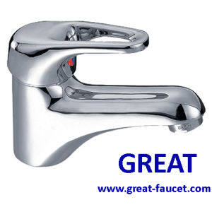 Economic Bathroom Lavatory Faucet with 5-Year Guarantee pictures & photos